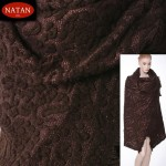 Dzianina swetrowa Jersey Brown Gold