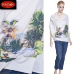 Dzianina Jersey THE ISLAND raport 55x140