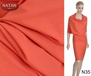 Dzianina Jersey Wiskoza Orange