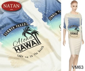 Dzianina Jersey HAWAII raport 130x140