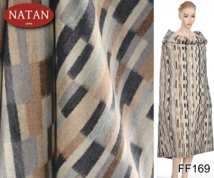 Tkanina Virgin Wool Kaszmir Deco Multi