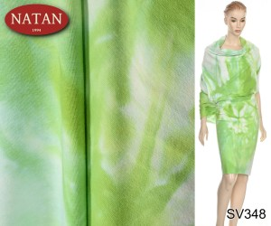 Dzianina Cotton Jersey Cotton Ombre