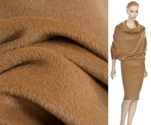Wełna Alpaka Virgin Wool Camel FF338 KUPON 150X150