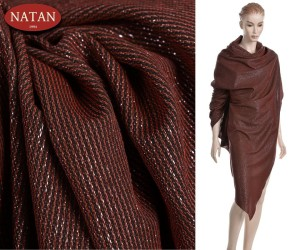 Dzianina Jersey Lurex RUST STAR