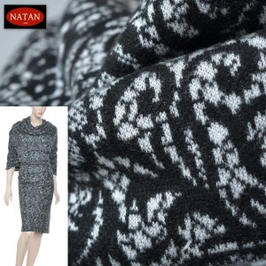 Dzianina JERSEY PUNTO Black & White