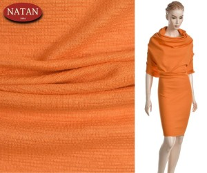 Dzianina JERSEY PUNTO MILANO ORANGE