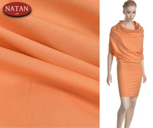 Tkanina wiskoza elastan Orange