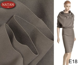 Dzianina Jersey PUNTO MILANO Earth COLOR