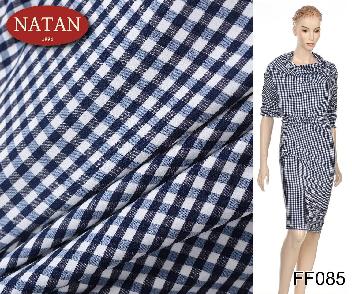 50382961b0e74e Bawełniana Tkanina elastyczna Cotton Kratka - kod produktu: FF085. FF085 (3 ).jpg